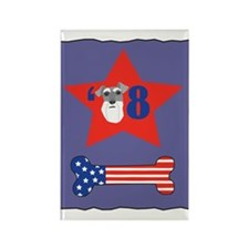 Schnauzer 2008 Rectangle Magnet (10 pack)