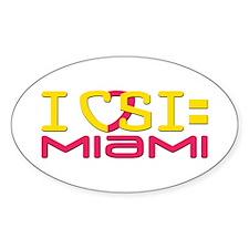 CSI Miami Decal