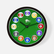 billiard Wall Clock