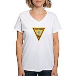 NJSP Freemason Women's V-Neck T-Shirt