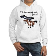 Paint horses, one of each. Hoodie