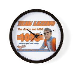 Team Lazzari Wall Clock