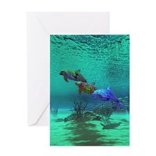 Delphinidelica Greeting Card