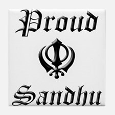 Sandhu Tile Coaster