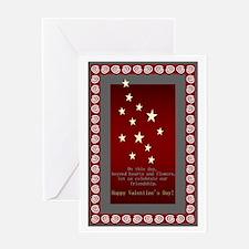 Beyond Heart & Flowers Greeting Card