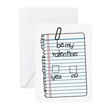 Be My Valentine: Check Yes or No Greeting Cards (P