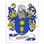 Vassall Coat of Arms Small Poster