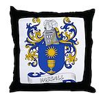 Vassall Coat of Arms Throw Pillow