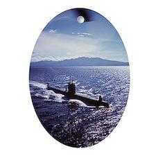 USS Darter SS-576 Submarine Keepsake (Oval)