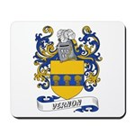 Vernon Coat of Arms Mousepad