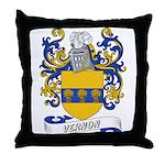 Vernon Coat of Arms Throw Pillow