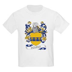 Vernon Coat of Arms Kids T-Shirt