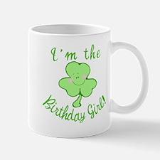 Birthday Girl with Shamrock Mug