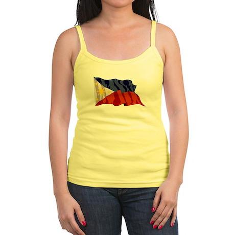 Philippines Flag Jr. Spaghetti Tank