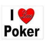I Love Poker Small Poster