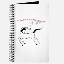 Chi Moves Mysterious Horse Journal