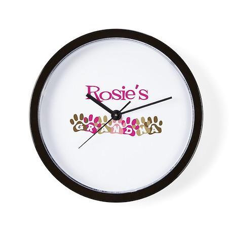 Rosie's Grandma Wall Clock