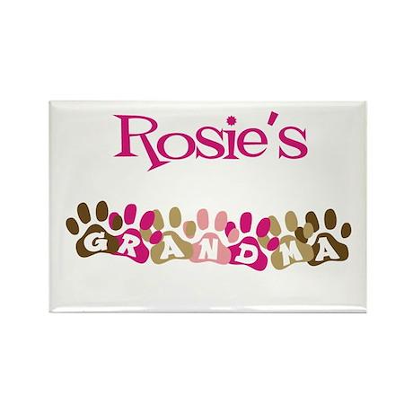 Rosie's Grandma Rectangle Magnet