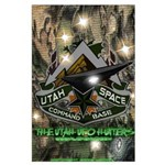 "Utah Space Command ""Camo"" 23x35 Large Poster"