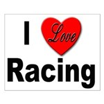 I Love Racing Small Poster