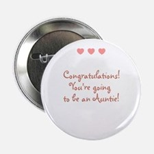 "Congratulations! You're going 2.25"" Button"