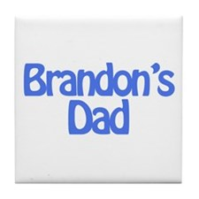 Brandon's Dad Tile Coaster