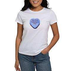 My First Valentine's Day Women's T-Shirt