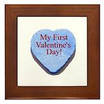 My First Valentine's Day Framed Tile