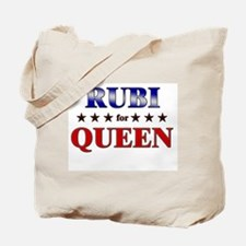 RUBI for queen Tote Bag