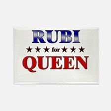 RUBI for queen Rectangle Magnet