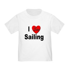 I Love Sailing (Front) T