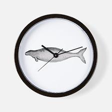 Steller's Sea Cow Wall Clock
