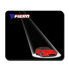 PFF Mousepad - Spotlight Red/Red
