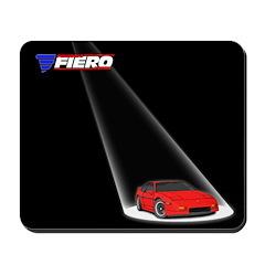PFF Mousepad - Spotlight Red/Red