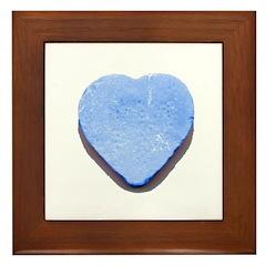 Valentine's Day Candy Heart B Framed Tile