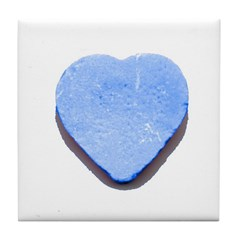 Valentine's Day Candy Heart B Tile Coaster