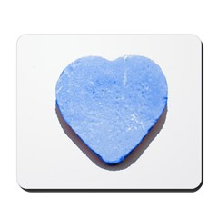 Valentine's Day Candy Heart B Mousepad