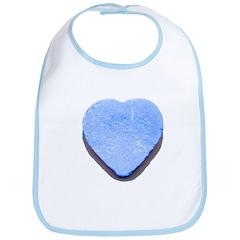 Valentine's Day Candy Heart B Bib