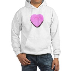Valentine's Day Candy Heart P Hoodie