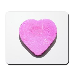 Valentine's Day Candy Heart P Mousepad