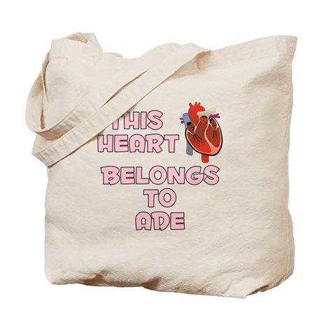 This Heart: Ade (C) Tote Bag