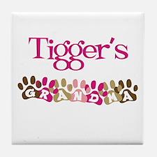 Tigger's Grandma Tile Coaster