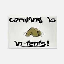 Camping in-tents! Rectangle Magnet