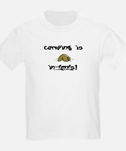 Camping in-tents! T-Shirt