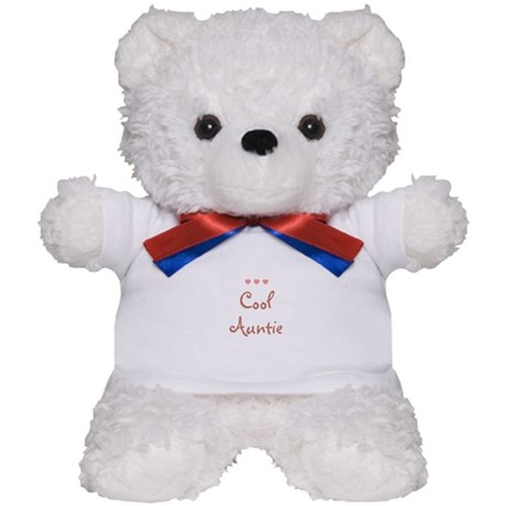 Cool Auntie Teddy Bear