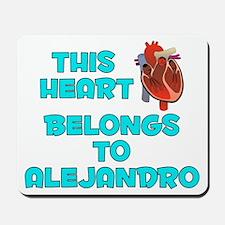 This Heart: Alejandro (B) Mousepad