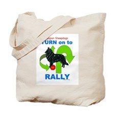 Belgian Sheepdog RALLY Tote Bag