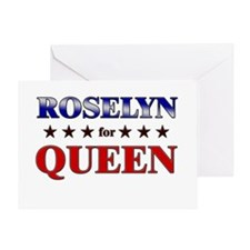 ROSELYN for queen Greeting Card