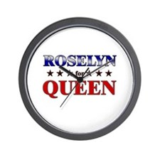 ROSELYN for queen Wall Clock