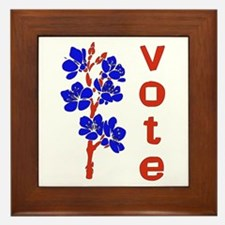 2008 Election Voter Framed Tile